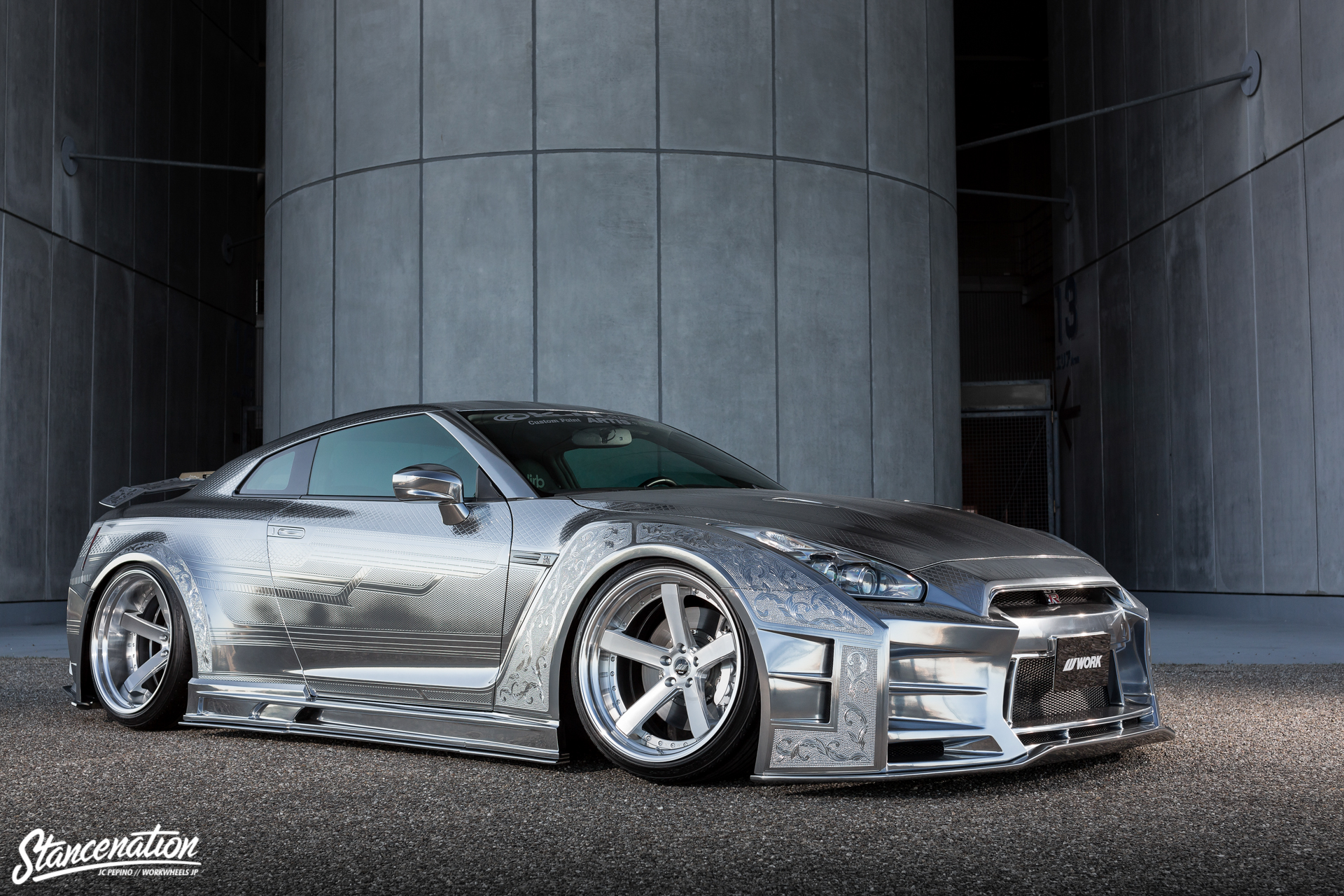 The Kuhl Kid Kuhl Racing S R35 Gtr Stancenation