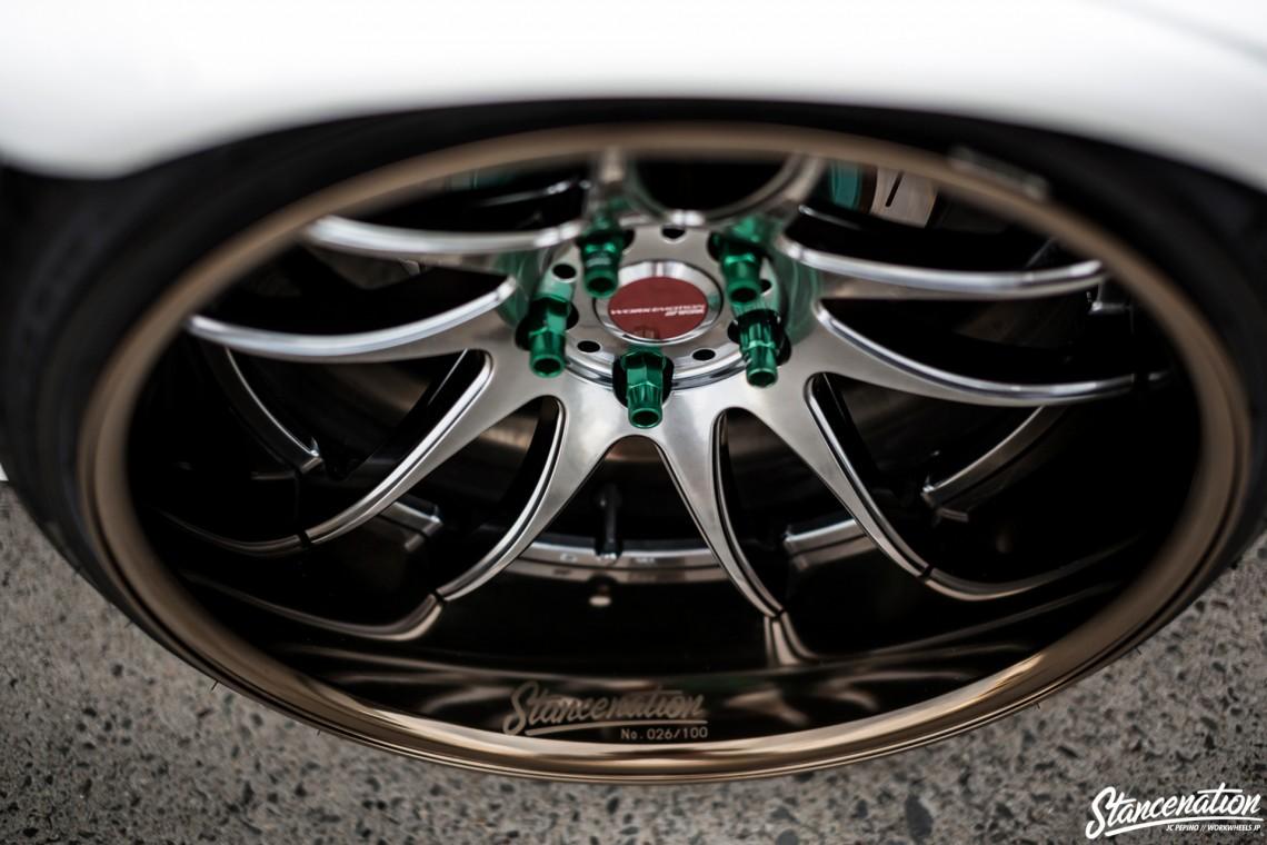 StanceNation CR2P Work Wheels Toyota JZX100-16