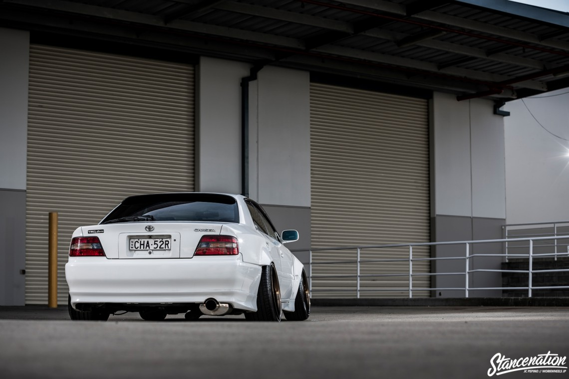 StanceNation CR2P Work Wheels Toyota JZX100-18