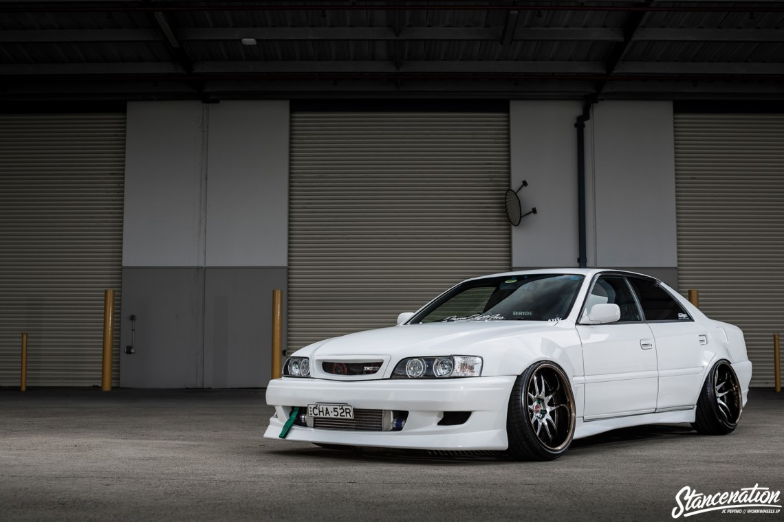 StanceNation CR2P Work Wheels Toyota JZX100-3