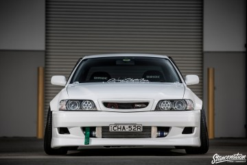 StanceNation CR2P Work Wheels Toyota JZX100-34