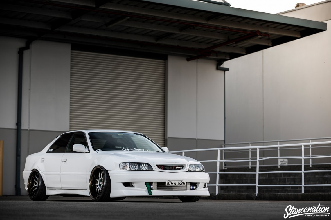 StanceNation CR2P Work Wheels Toyota JZX100-36