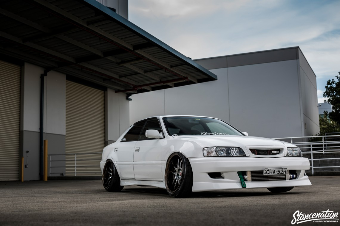 StanceNation CR2P Work Wheels Toyota JZX100-6