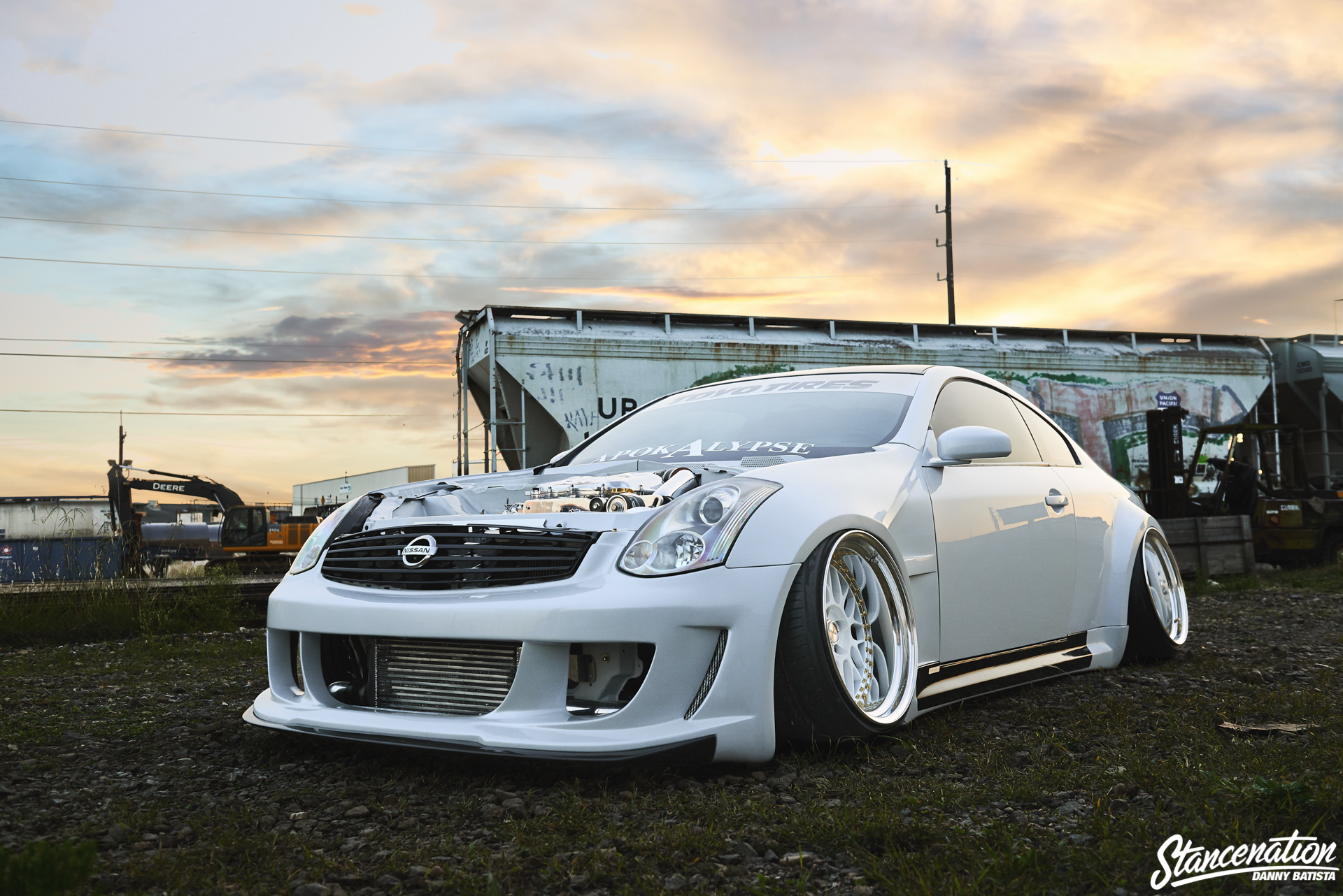 Custom Wide Infiniti G on Infiniti G35 Brakes