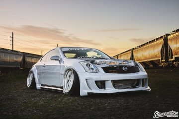 Custom Wide Infiniti G35-9