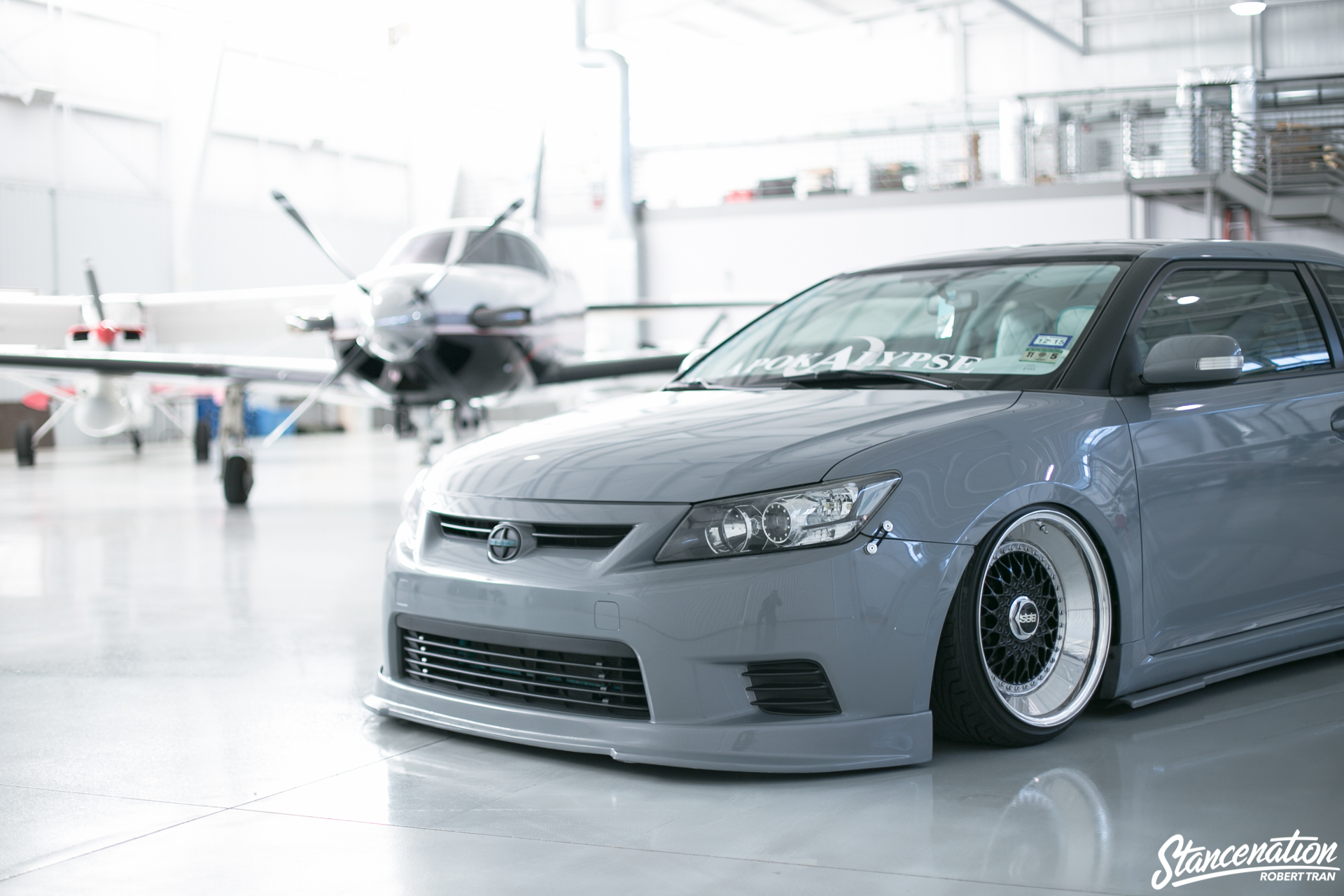 Slammed Scion Tc 1