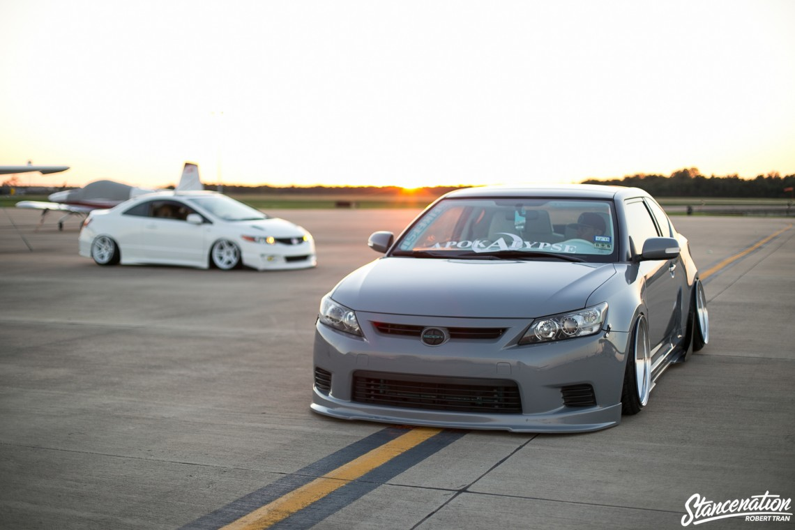 Slammed Scion tC-10