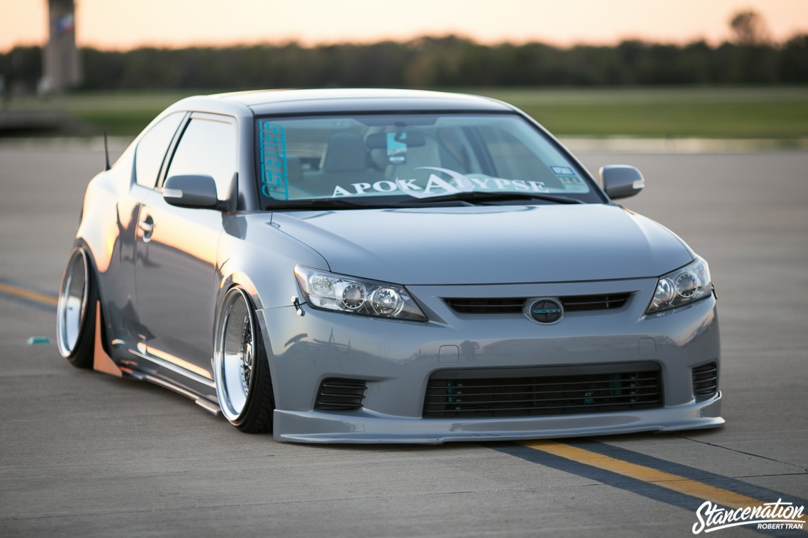 Slammed Scion tC-11