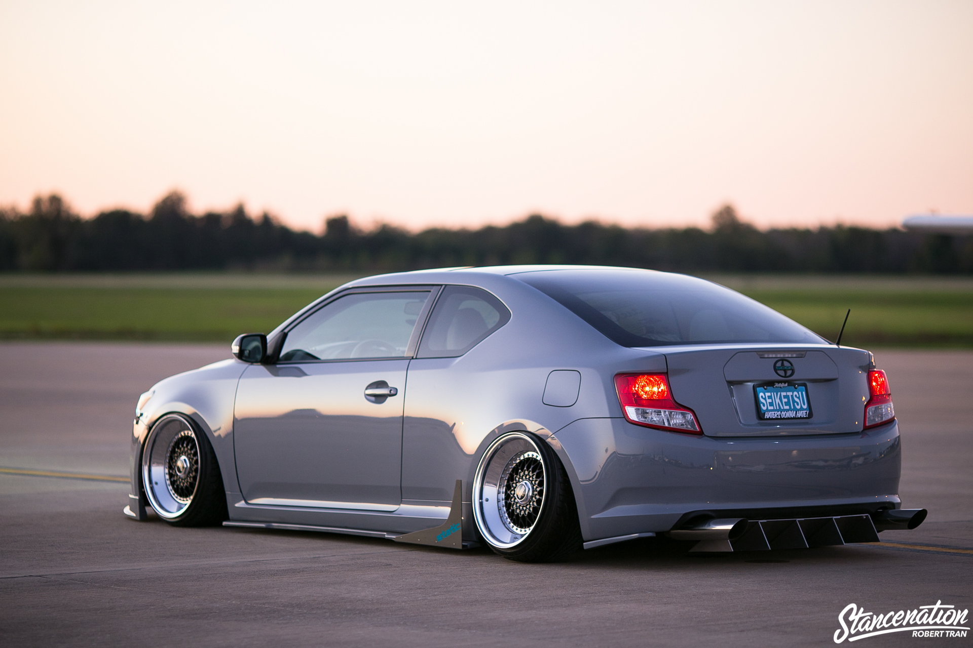 Slammed Scion Tc