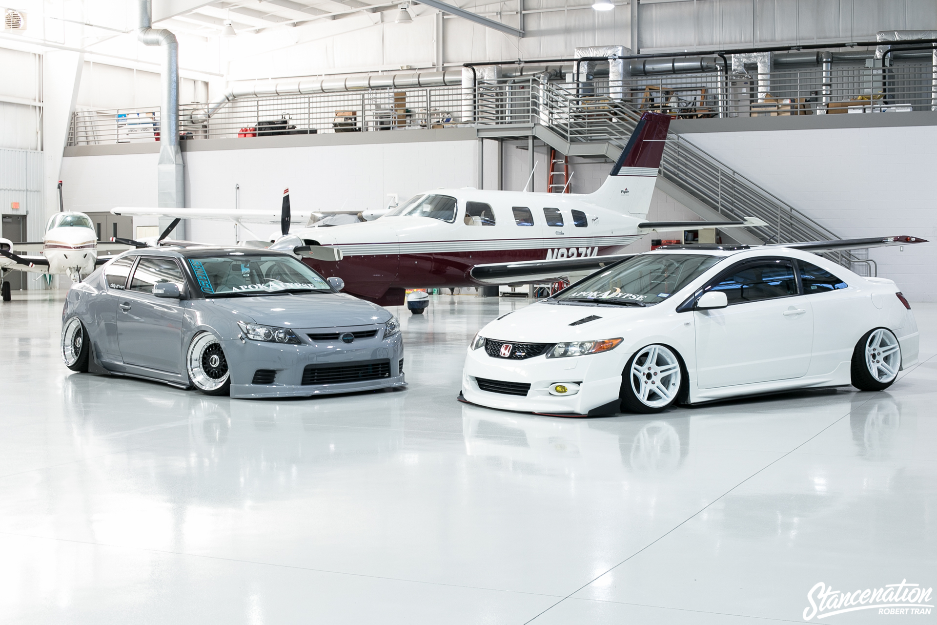 Slammed Scion Tc 5