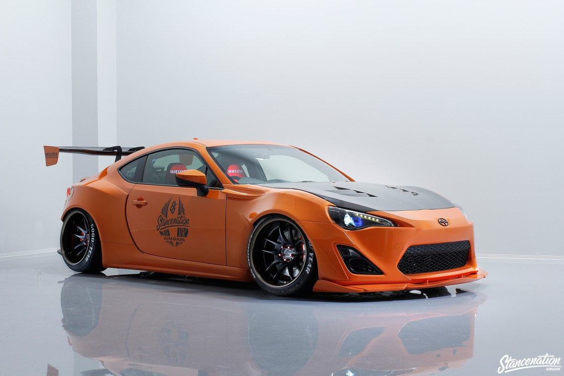 Aimgain & StanceNation Scion FRS Collaboration Aero 1