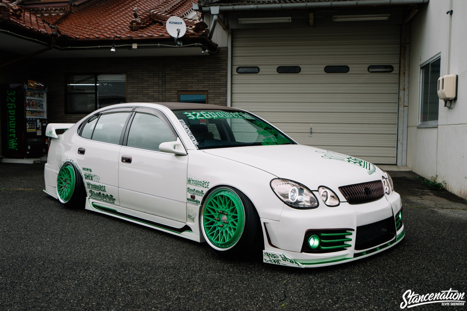 A Closer Look At The 326 Power Toyota Aristo. | StanceNation  // Form > Function
