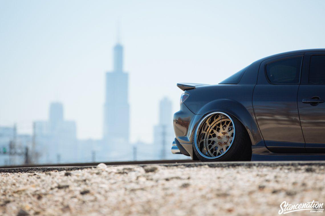 Stanced Mazda RX8-4
