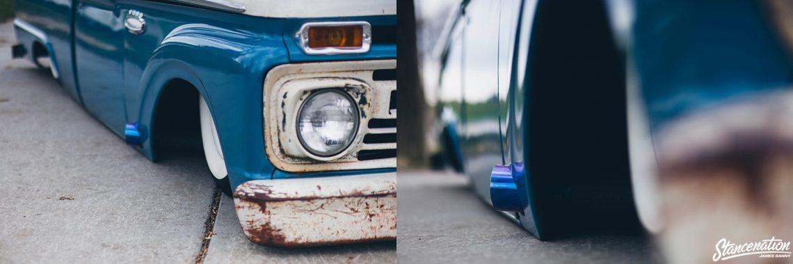 Slammed Ford F100-33
