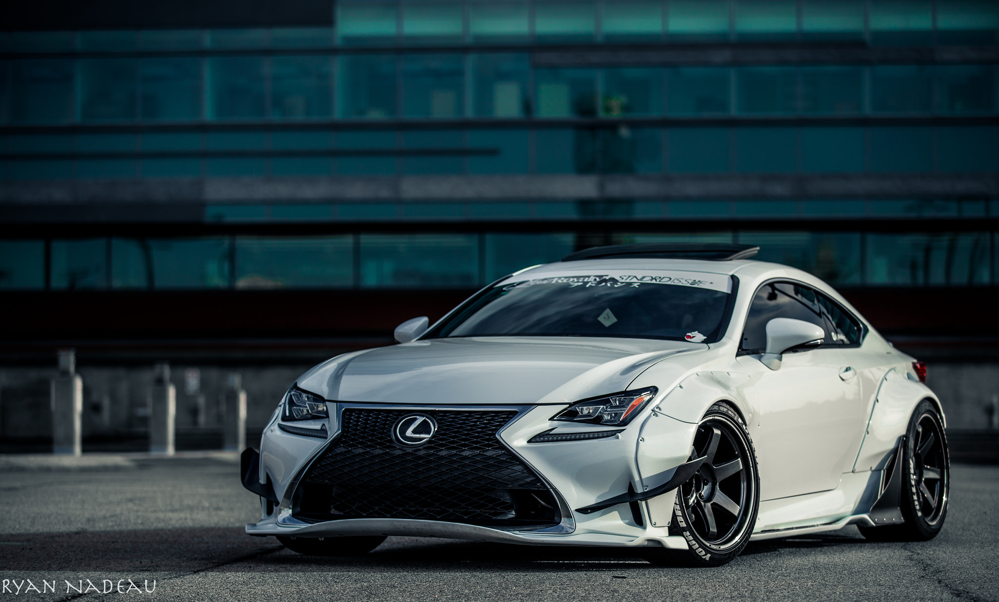 Rocket Bunny Lexus RC350! | StanceNation™ // Form > Function