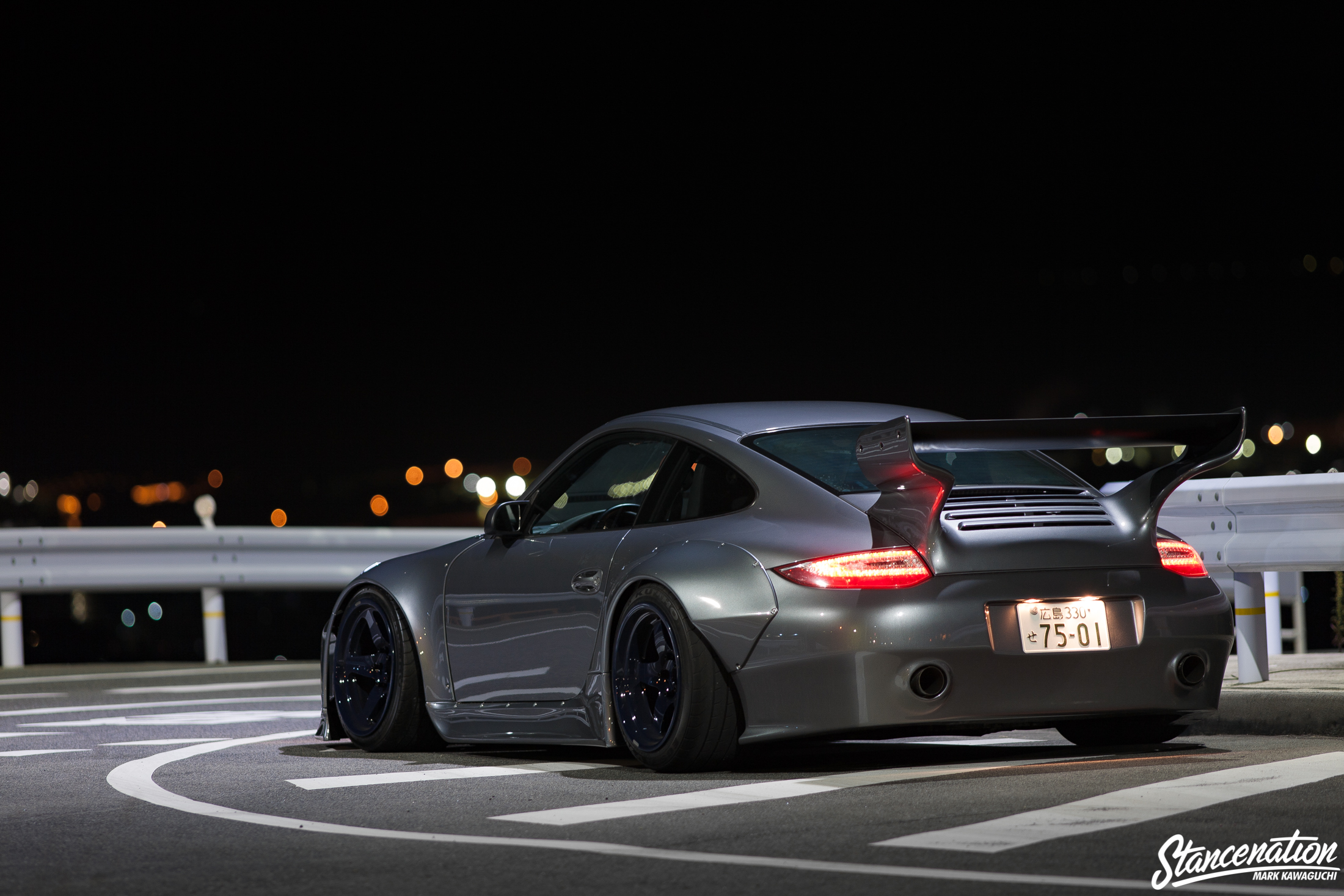 a stunning porsche 997 by old new stancenation form function. Black Bedroom Furniture Sets. Home Design Ideas