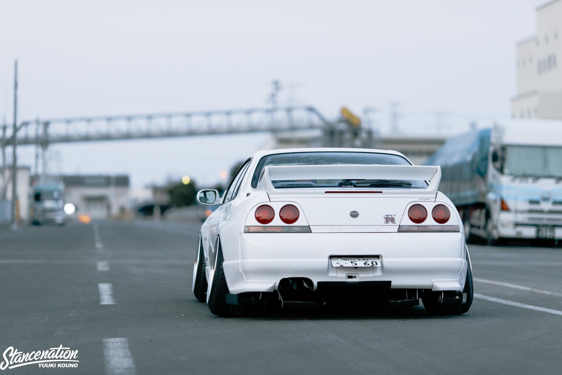 Pride Of Japan Shoi Matsuzaki S Nissan Skyline R33 Gtr