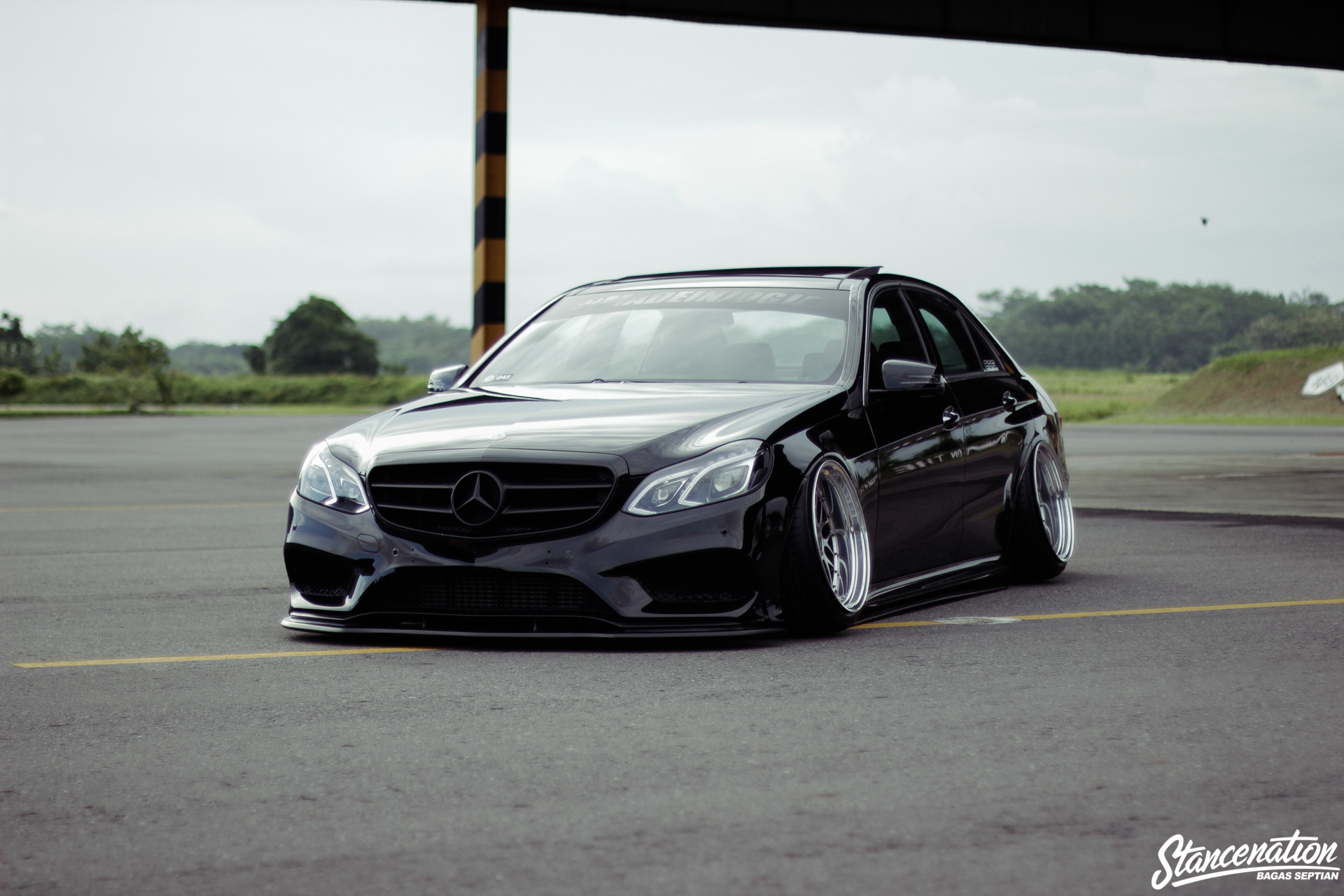 Staying The Course Chandra Kenzo S Mercedes Benz E250
