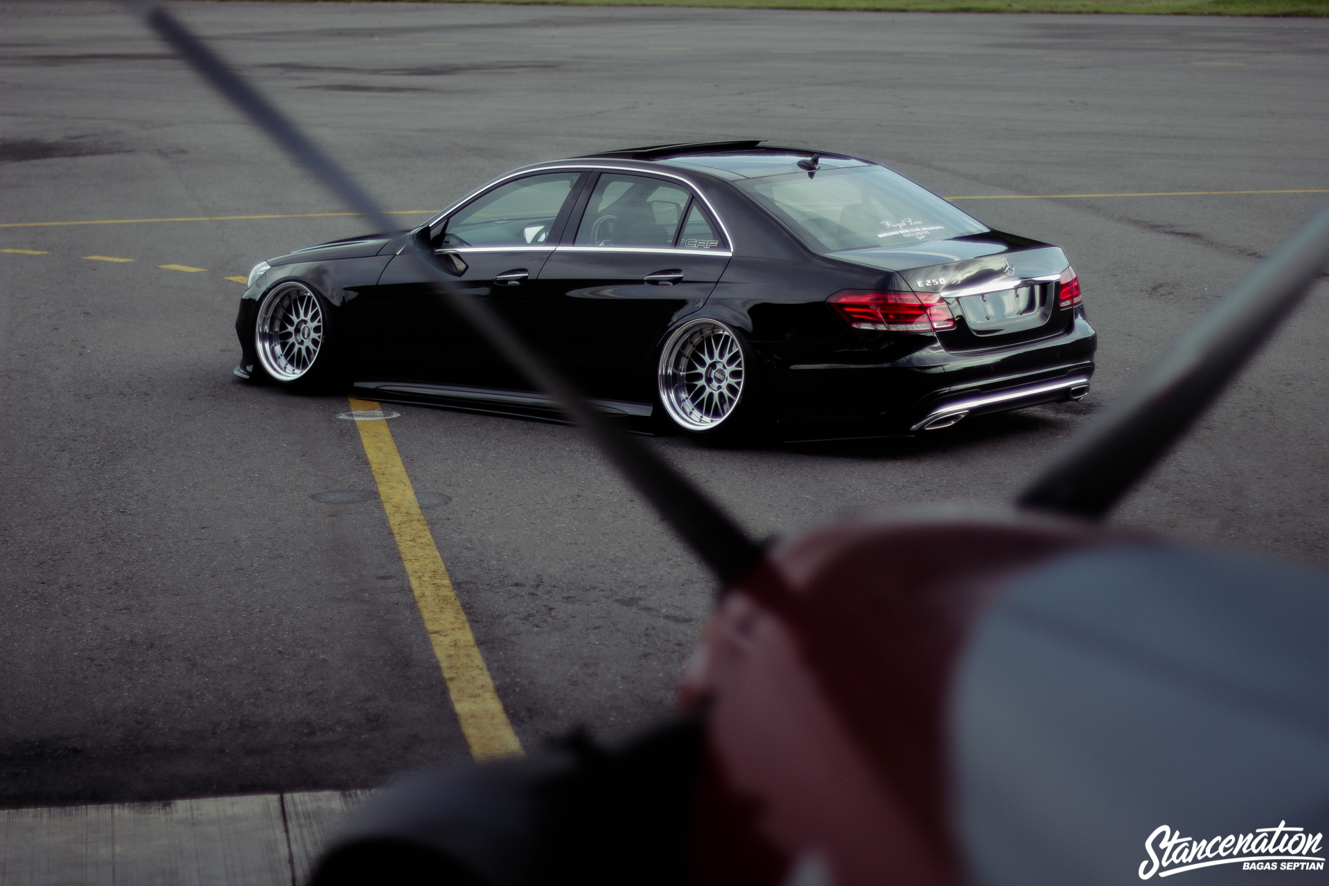 Staying the Course // Chandra Kenzo's Mercedes-Benz E250