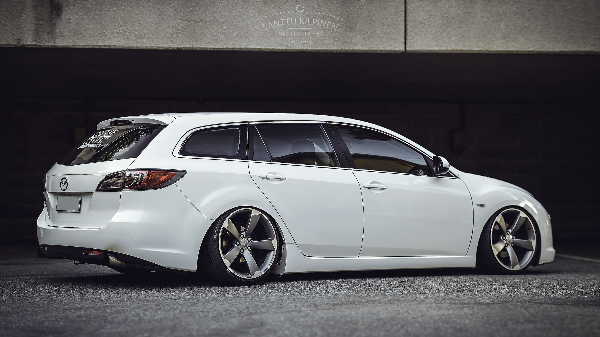 slammed mazda 6 wagon stancenation form function. Black Bedroom Furniture Sets. Home Design Ideas