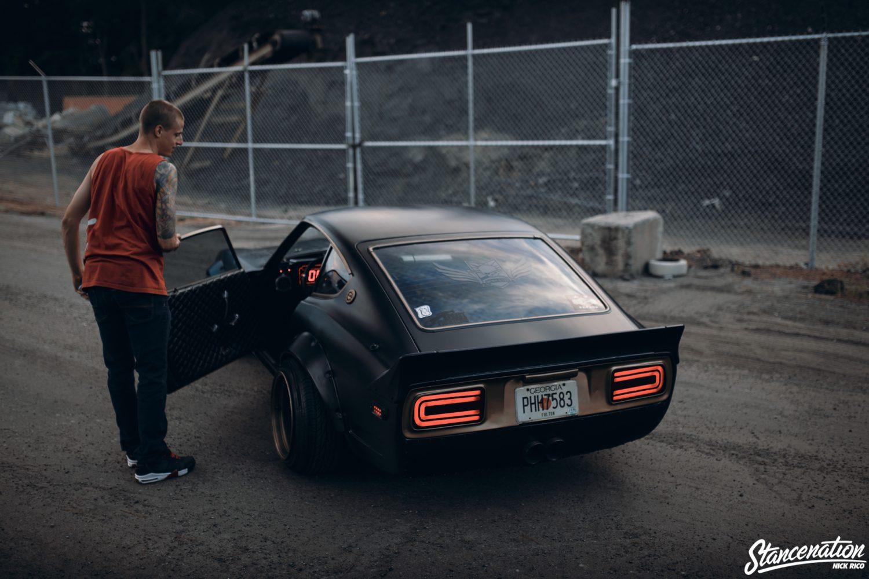 The Devil Z // Scott Koehler's Datsun 240Z.   StanceNation ...