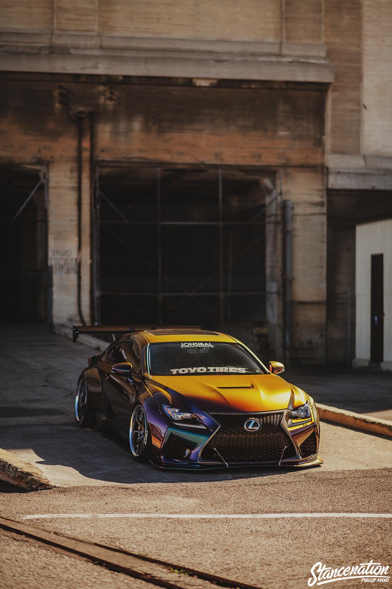 Chasing Passion // Dana Balthasar's Pandem Lexus RC-F
