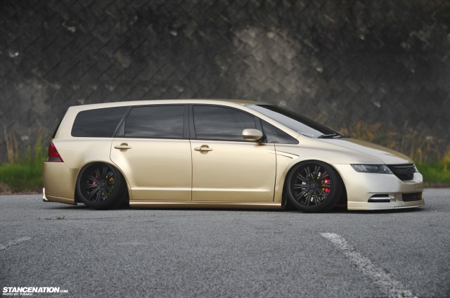 Stance VIP Style Honda Odyssey Japan (11)