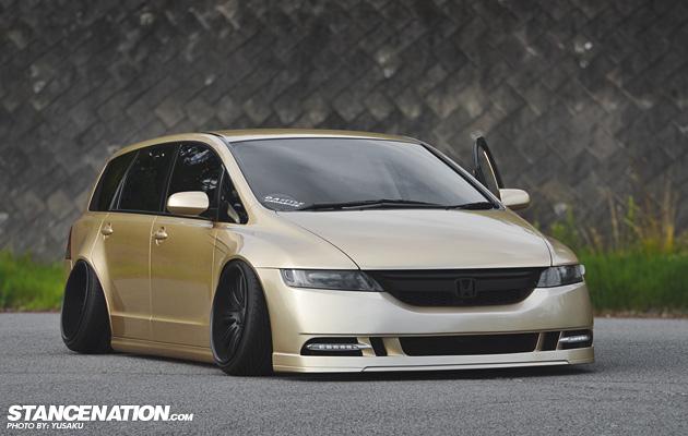 Made in Japan // Yusaku's awesome Honda Odyssey ...