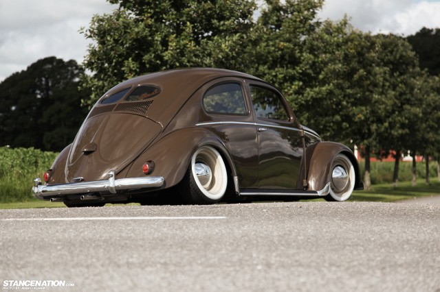 Bagged VW Beetle Bug