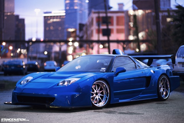 Wide Acura NSX (2)