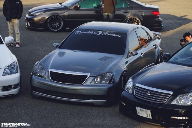 Widebody Custom VIP Toyota Crown (11)