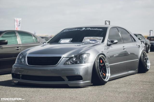 Widebody Custom VIP Toyota Crown (8)