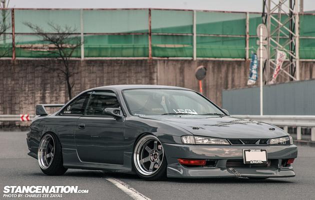 Yokohama Beauty Shun Saitos Nissan Silvia S14 Stancenation