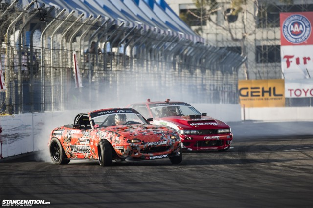 Formula Drift Round 1 Streets of Long Beach Photo Coverage (50)