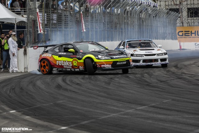 Formula Drift Round 1 Streets of Long Beach Photo Coverage (39)