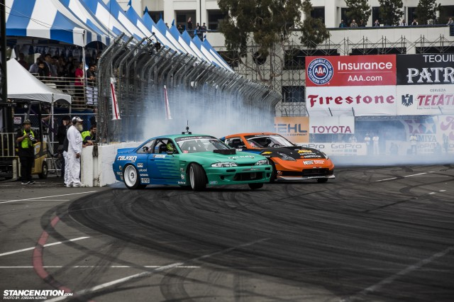 Formula Drift Round 1 Streets of Long Beach Photo Coverage (32)