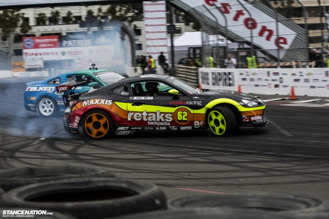 Formula Drift Round 1 Streets of Long Beach Photo Coverage (30)