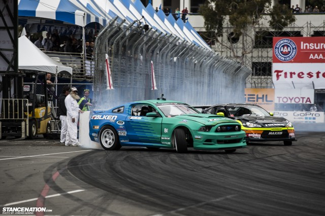 Formula Drift Round 1 Streets of Long Beach Photo Coverage (29)