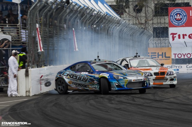 Formula Drift Round 1 Streets of Long Beach Photo Coverage (28)