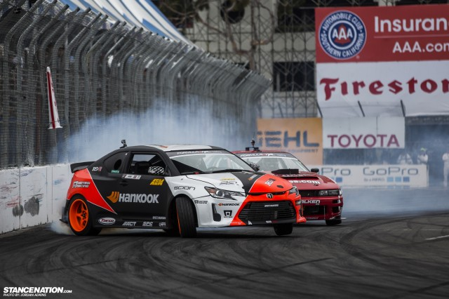 Formula Drift Round 1 Streets of Long Beach Photo Coverage (24)