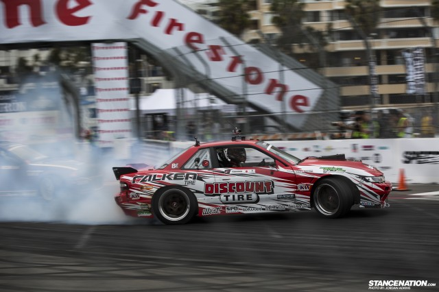 Formula Drift Round 1 Streets of Long Beach Photo Coverage (19)