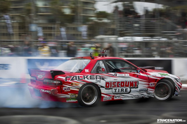 Formula Drift Round 1 Streets of Long Beach Photo Coverage (18)