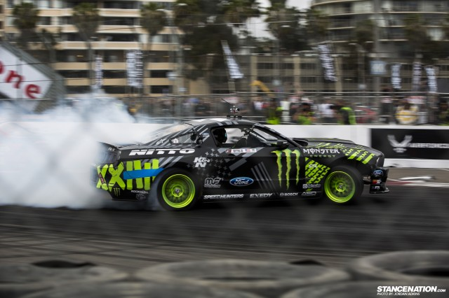 Formula Drift Round 1 Streets of Long Beach Photo Coverage (16)