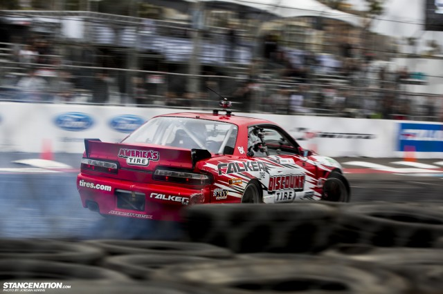Formula Drift Round 1 Streets of Long Beach Photo Coverage (6)