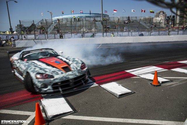 Formula Drift Round 1 Streets of Long Beach Photo Coverage (80)