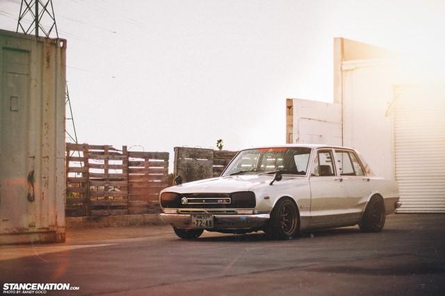 Hakosuka skyline Nissan Stance (15)