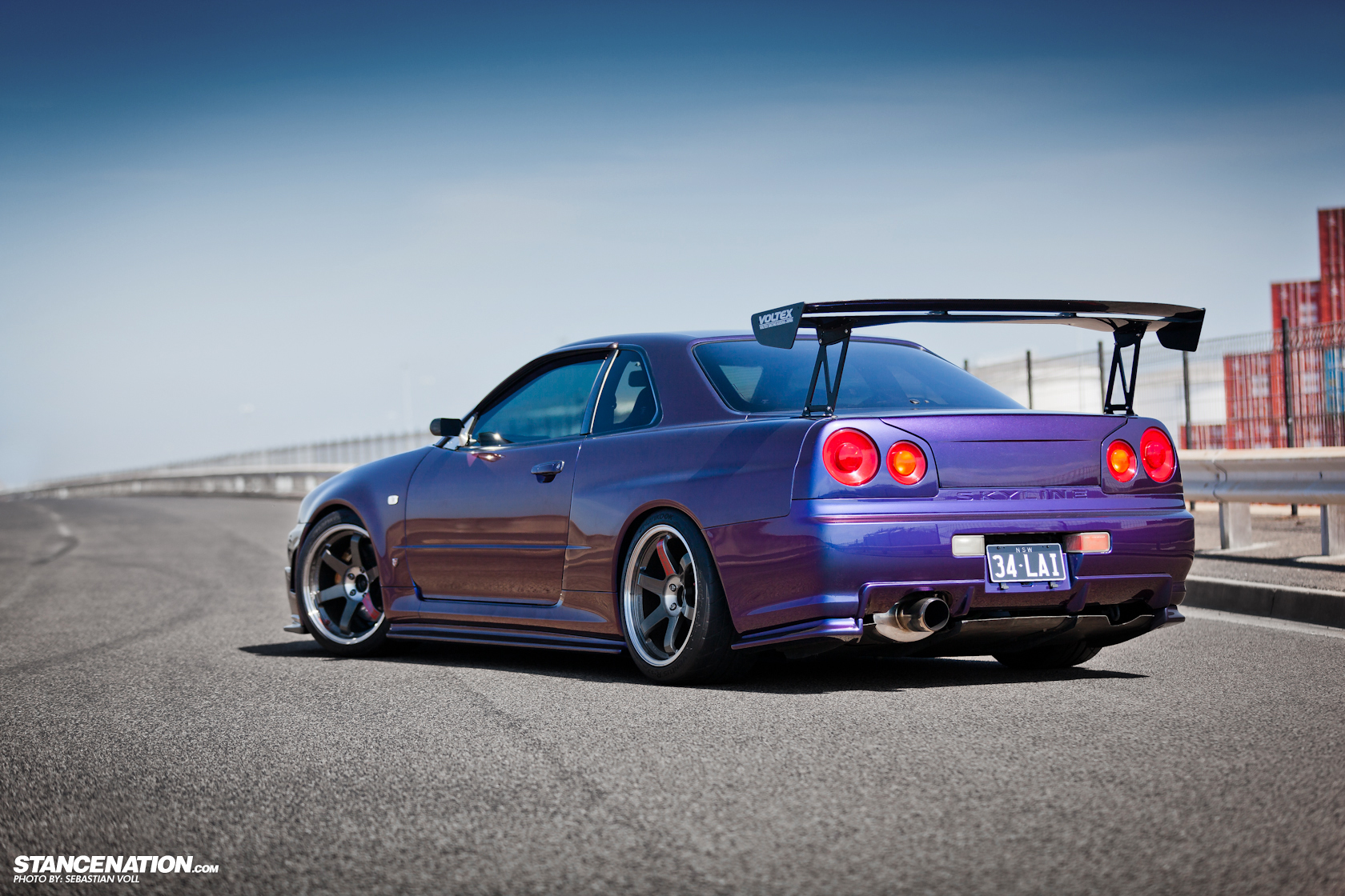 Barely Legal David S Nissan Skyline R34 Gtr