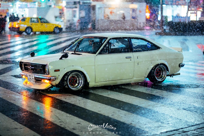 Shakotan Fever Teru S Datsun Sunny Coupe