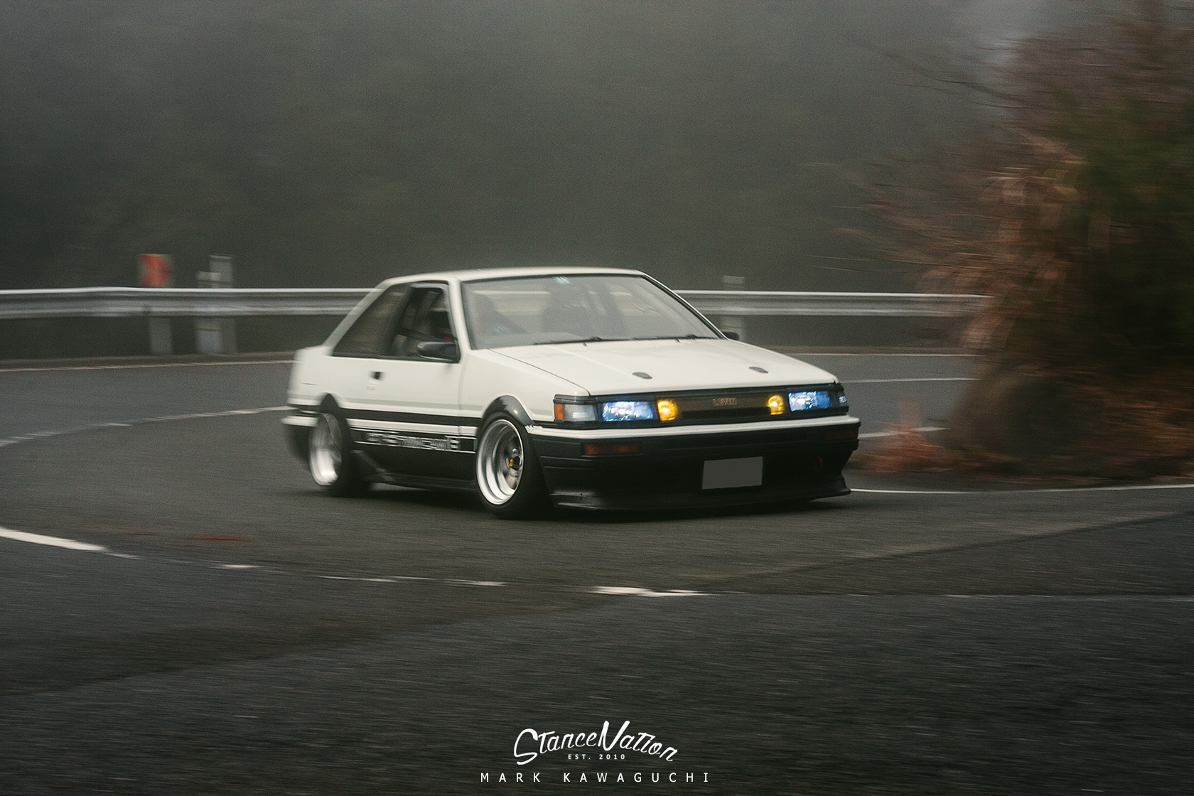 The Living Legend Sato S Gorgeous Ae86 Stancenation