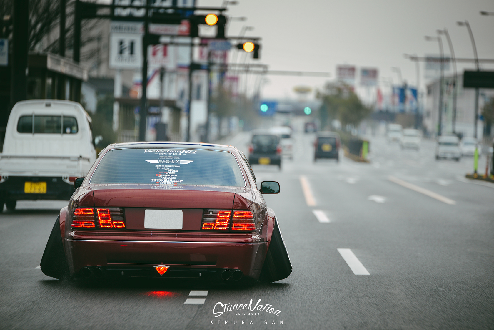 Wide Load // Ishikawa-san's Super-Wide Celsior ...
